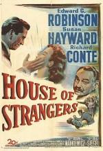 House Of Strangers (1949) afişi
