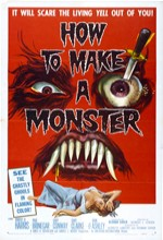 How To Make A Monster (l) (1958) afişi