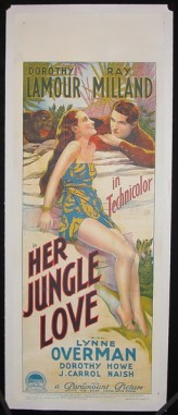 Her Jungle Love (1938) afişi