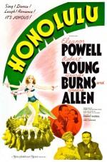 Honolulu (1939) afişi