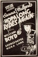 Hopalong Rides Again (1937) afişi