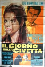 Il Giorno Della Civetta (1968) afişi