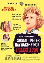 I Thank a Fool (1962) afişi