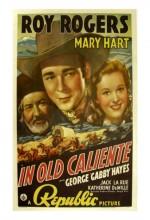 ın Old Caliente (1939) afişi