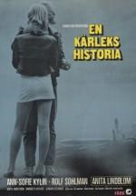 İsveççe Aşk Hikayesi (1970) afişi