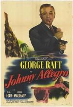 Johnny Allegro (1949) afişi