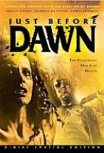 Just Before Dawn (1981) afişi