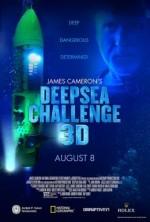 James Cameron's Deepsea Challenge 3D (2014) afişi