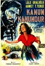 Kanun Kanundur (1962) afişi