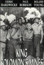 King Solomon's Mines (1937) afişi