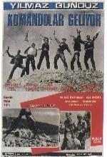 Komandolar Geliyor (1968) afişi