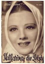 Katharina, die Letzte (1936) afişi