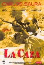 La Caza (1966) afişi