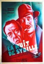 La Nuit De Sybille (1947) afişi