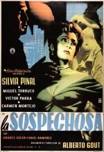 La Sospechosa (1955) afişi