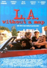 L.A. Without a Map (1998) afişi