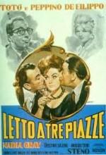 Letto A Tre Piazze (1960) afişi