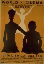 Lille Lise Let-paa-taa (1924) afişi