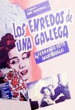 Los Enredos De Una Gallega (1951) afişi