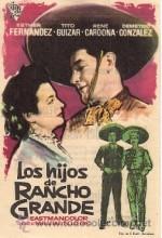 Los Hijos De Rancho Grande (1956) afişi