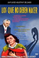 Los Que No Deben Nacer (1953) afişi
