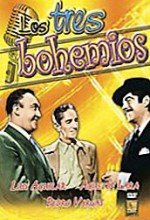 Los Tres Bohemios (1957) afişi