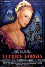 Lucrèce Borgia (1953) afişi
