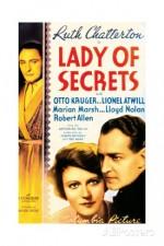 Lady of Secrets (1936) afişi