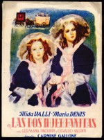 Le due orfanelle (1942) afişi