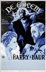 Le golem (1936) afişi