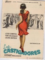 Los castigadores (1962) afişi