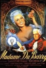Madame Du Barry (1954) afişi
