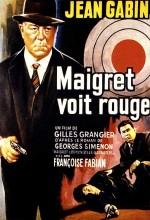 Maigret Voit Rouge (1963) afişi
