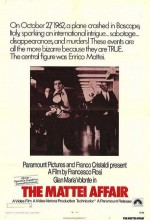 Mattei Olayı (1972) afişi