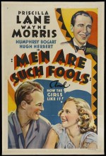Men Are Such Fools (1938) afişi