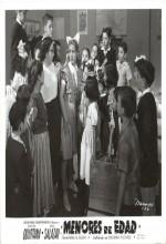 Menores De Edad (1951) afişi