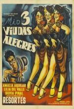 Mis Tres Viudas Alegres (1953) afişi