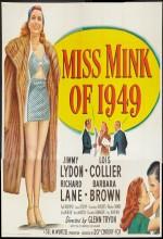 Miss Mink Of 1949 (1949) afişi