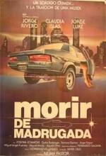 Morir De Madrugada (1980) afişi