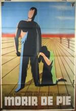 Morir De Pie (1957) afişi