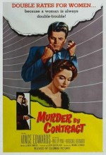 Murder By Contract (1958) afişi