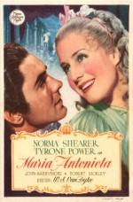 Marie Antoinette (1938) afişi
