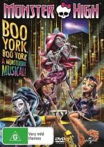 Monster High: Boo York, Boo York (2015) afişi