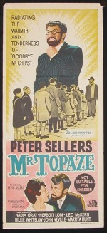 Mr. Topaze (1961) afişi