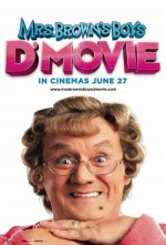 Mrs. Brown's Boys D'Movie (2014) afişi