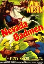 Nevada Badmen (1951) afişi