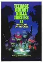 Ninja Kaplumbağalar 2 (1991) afişi