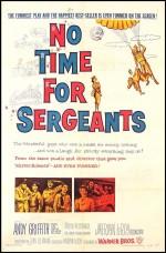 No Time For Sergeants (1958) afişi