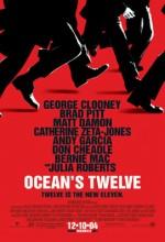 Ocean's Twelve (2004) afişi
