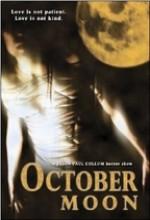 October Moon (2005) afişi